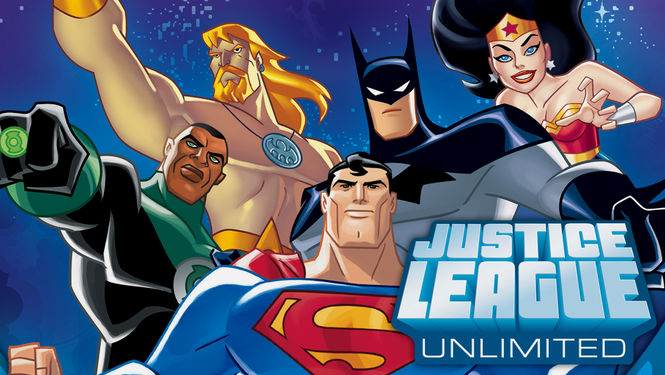 Rent Justice League Unlimited on DVD
